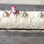 Bûche de Noël glacée, Gâteau de fête