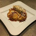 Croustade traditionnelle aux pommes, Dessert individuel