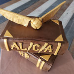 Cake design Harry Potter, Gâteau personnalisé sur commande