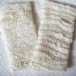 長野県M.Oさま-2 上で左右なし鍋つかみミトンを作られたM.Oさま、精力的に作られてますねえ こちらはなんとご自身で紡がれた毛糸をご使用とのこと。ノールビンドニングはこういう手紡ぎ糸、とても似合うんですよ!
