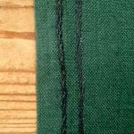 手縫いのステッチが、、、たどたどしいです。。。
