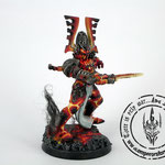 eldar avatar of khaine converted head