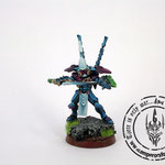 Converted eldar autarch with warp jump generator
