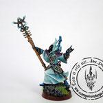 eldar spiritseer painted