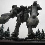 時にUC0092、各地に展開するジオン軍は地球からの撤退を決定。曇天のもと翼を失ったシュツルム・イェーガー(ギャプラン)は何を思う・・・