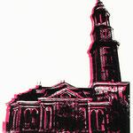 Michel - schwarz-pink, 21 x 29 cm
