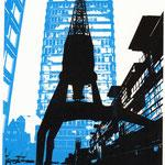 Ostkai schwarz auf blauem Astraturm