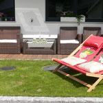 genießen Sie eine Auszeit im Liegestuhl - Apartment Horberg - Apart Rauch