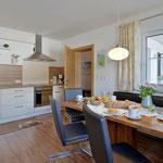 Wohnbereich/Wohnküche Apartment Horberg - Apart Rauch