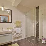 Badezimmer mit DU/WC (ein weiteres Badezimmer mit DU/WC vorhanden) Fewo Horberg - Apart Rauch