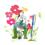 illu intérieure : les blogs de jardinage