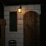 Der Eingang in unser unterirdisches Gewölbe