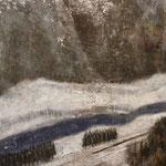 ≪銀雪≫2011年 P80号