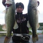 ■釣り人:小林様                 ■場 所:赤ノ井沖                 ■リ グ:バイブレーション                 ■サイズ:50cm