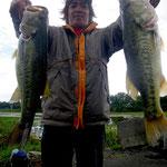 ■釣り人:北川様                 ■場 所:赤ノ井周辺                 ■リ グ:ヘビキャロ                 ■サイズ:50~48cm