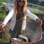 ■釣り人:北川奥様                 ■場 所:浜大津周辺                 ■リ グ:ダウンショット                 ■サイズ:35~30cm多数