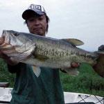 ■釣り人:江口様                 ■場 所:カネカ沖                 ■リ グ:ワーム                 ■サイズ:48cm