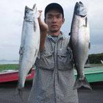 ■釣り人:中筋様                 ■場 所:近江舞子沖                 ■リ グ:ビワマス                 ■サイズ:51cmを頭に多数匹