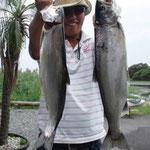 ■釣り人:喜多様                 ■場 所:安曇川沖周辺                 ■リ グ:ビワマス                 ■サイズ:48cm~数本