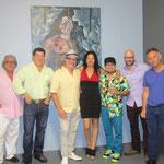 ARTISTS: Luis Jimenez, Kimba Donate, Monica Lucio, Daniel Voramar, Dario Posada, Gerardo Etcheverry, Karl Troller. at Espitia Gallery.
