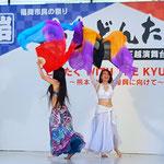 【シェヘラザード どんたく 岩田屋ステージ】reika(レイカ) yukari(ユカリ) ファンベール2