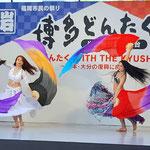 【シェヘラザード どんたく 岩田屋ステージ】reika(レイカ) yukari(ユカリ) ファンベール1