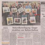 Gewinn des Montgolfiade-Fotowettbewerbs, Söster-Anzeiger 11/2011