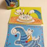 オリジナルポストカードは2枚です。1枚150円で販売いたします。