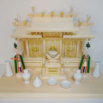 棚板(65cmx35cm)+真榊(小豆/24cm)