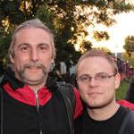 Jan (rechts) mit Willi