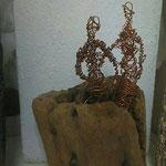 Kreatives arbeiten mit Treibholz