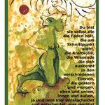 FrauenZauber-Grusskarte-Du bist sie selbst