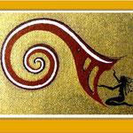 FrauenZauber-Grusskarte-Spirale