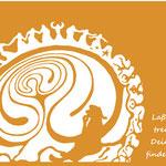 FrauenZauber-Grusskarte-Labyrinth