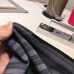 お袖の縫い