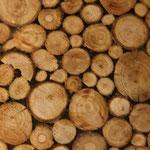 Holzscheiben Kugelleuchte XL
