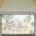 Fresque équestre- Atelier Pascale B.- Pascale Stella Brigand