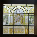Copie de vitrail Renaissance, peinte à l'Atelier Pascale B.