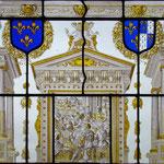 Peinture sur verre, peinte à l'Atelier Pascale B. - Pascale Stella Brigand