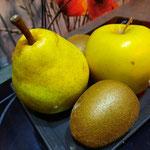 pomme, poire et kiwi des vergers de la vallée du rhône