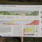 le patrimoine avec la chapelle de Sainte-Euphémie à Saint-Uze