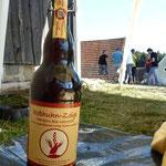 Hier gibts das Bier in 1 Literflaschen!