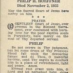 Hoeffner, Philip H . - 1935