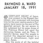 Ward, Raymond A. - 1991