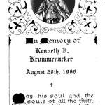 Krummenacker, Kenneth V. - 1966
