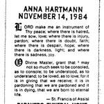 Hartmann, Anna - 1984