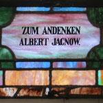 Zum Andenken Albert Jagnow