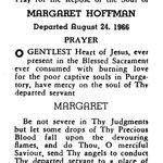 Hoffman, Margaret - 1966