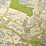 1939 City Atlas Map - Elmont