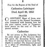 Leininger, Catherine - 1953